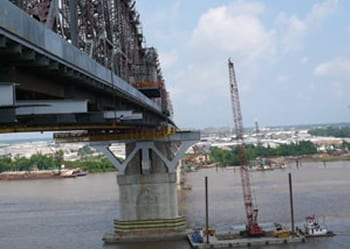 Photo of bridge under construction or repair